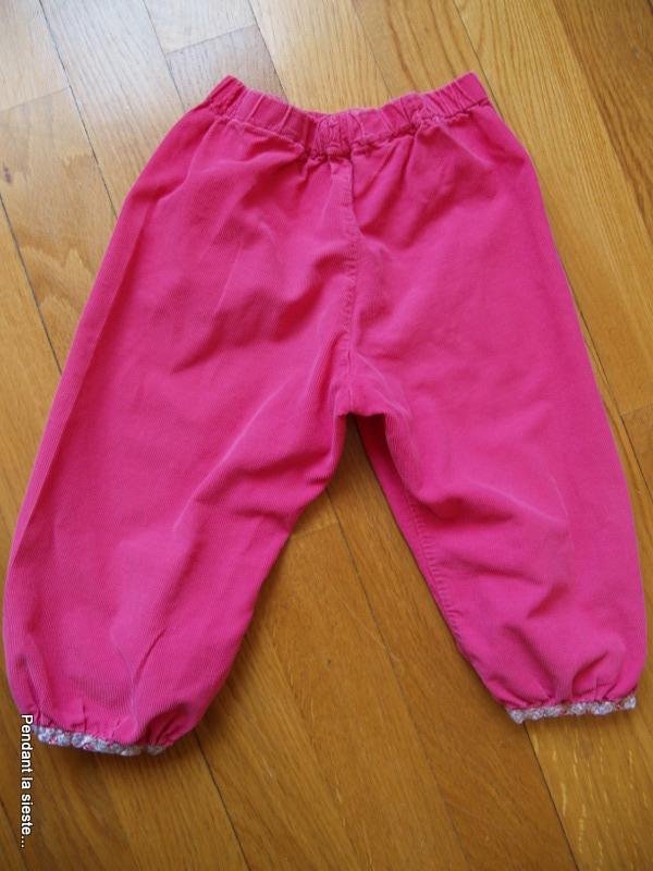 Pantalon bouffant mes petits habits