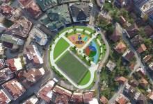 Lonca Sokak Parkı'nın Yapımına Başlandı