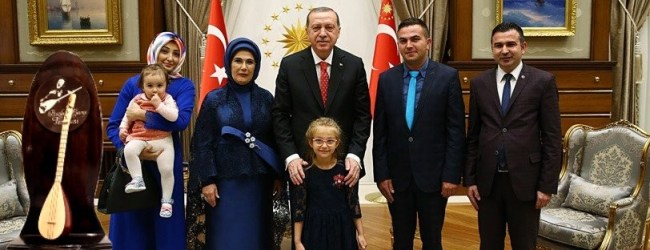 Pendikli Kaya Ailesi, Cumhurbaşkanı Erdoğan'ın Onur Konuğu Oldular