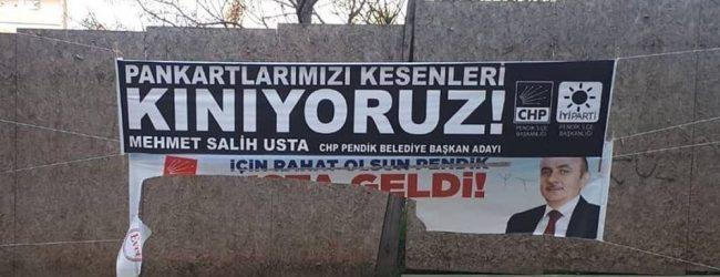 """M. Salih Usta: """"Pankartlarımız Kesiliyor!"""""""