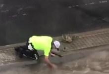 O Polis Pendikli! Su Kanalını Elleriyle Açmıştı