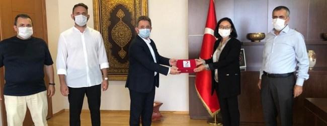 Kızılay Pendik'ten Kaymakam Dr. Hülya Kaya'ya Hayırlı Olsun Ziyareti
