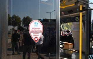 Gebze – Harem Minibüsleri'ne Dezenfektan Ünitesi Takıldı