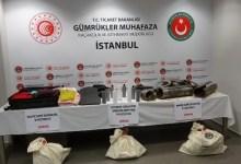 Sabiha Gökçen Havalimanı'nda 11 Milyon TL'lik Uyuşturucu Yakalandı
