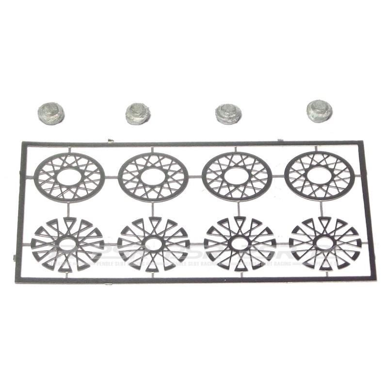 Penelope Pitlane Wire Wheel Inserts (PP-PEW05)