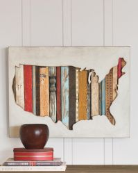 USA MAP WALL ART | Pendleton