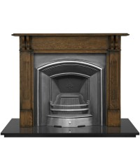 London Plate Fireplace Insert - Pendragon Fireplaces
