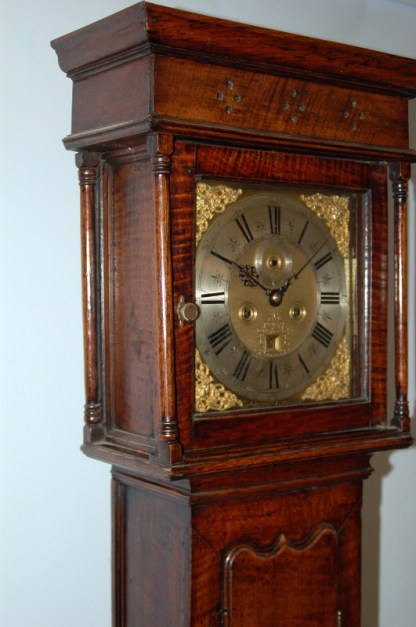 Very early provincial oak clock