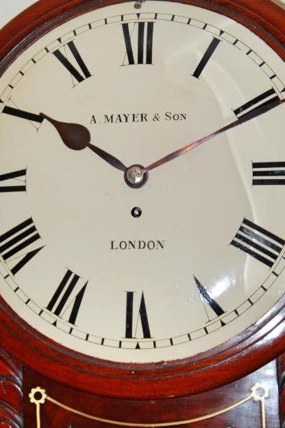 Maher and sons fusee wall clock