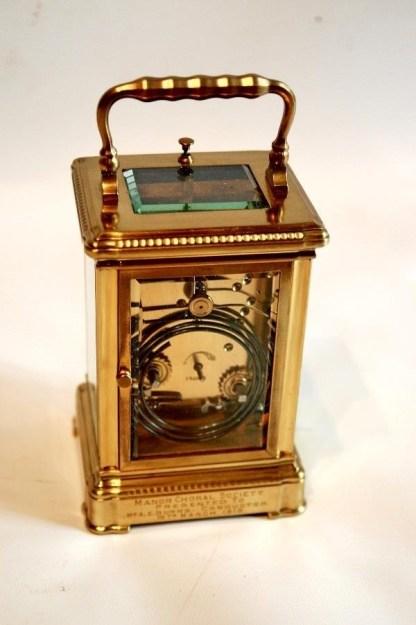movement 8 day arabic numeral clock