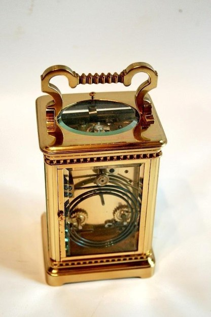 french carriage clock movement