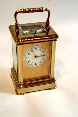 1880 French repeating carriage clock