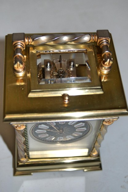 French clock lever escapement