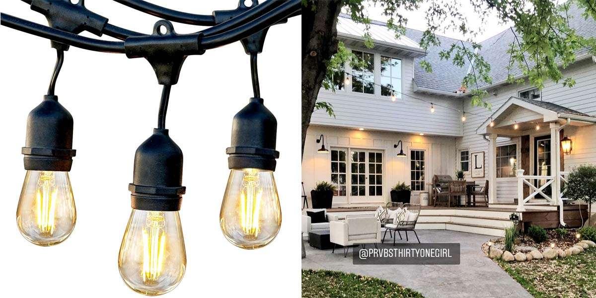 10 best outdoor string lights complete