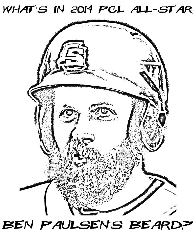 What's In Ben Paulsen's Beard?
