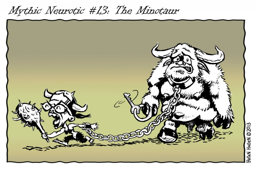 Neurotic Minotaur