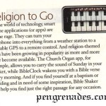 bible app article