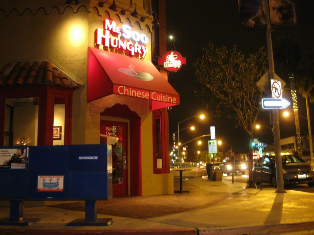 The Me Sooo Humgry restaurant in Long Beach CA