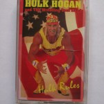 hulk hogan cassette tape - hulk rules