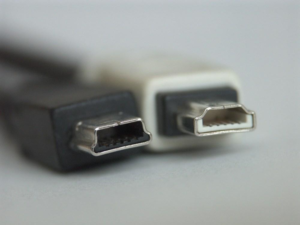 medium resolution of usb mini b plug