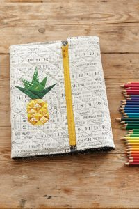 pineapple sketchbook