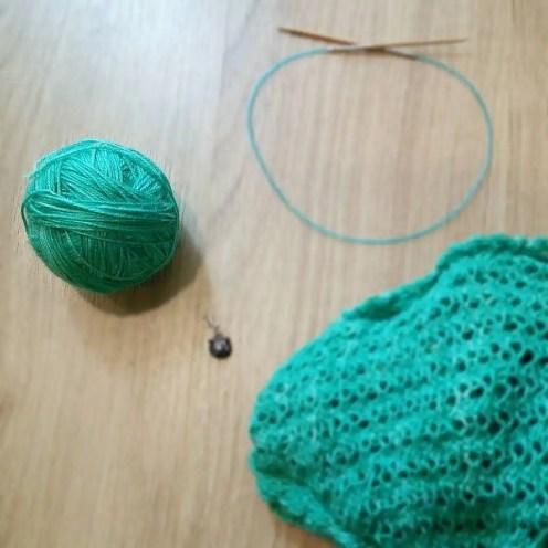 Sample Knit Shawl