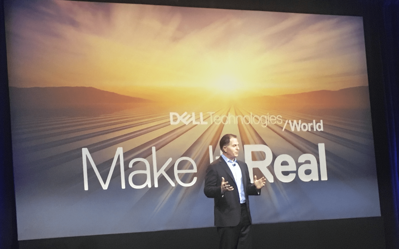 dell technologies world 2018 – meet the chairman – rough notes