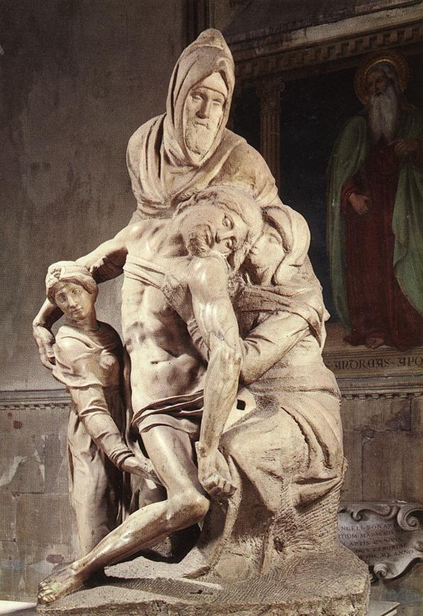 Image result for nicodemus pieta michelangelo museo dell'opera del duomo