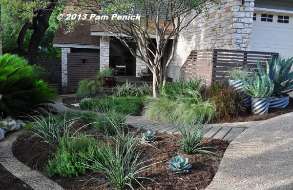 water-saving -lawn garden of