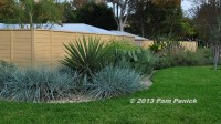 Drive-By Gardens: Front yard fence and garden screen ...