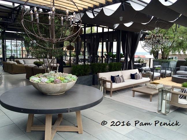 rh austin rooftop garden showcases