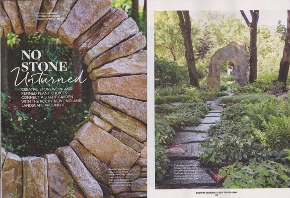 No Stone Unturned Read My Article In Country Gardens Magazine