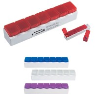 Customized 7-Section Pill Holder | Promotional Pill ...