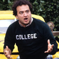 NATIONAL LAMPOONS ANIMAL HOUSE, John Belushi, 1978. ©Universal Pictures/courtesy Everett Collection