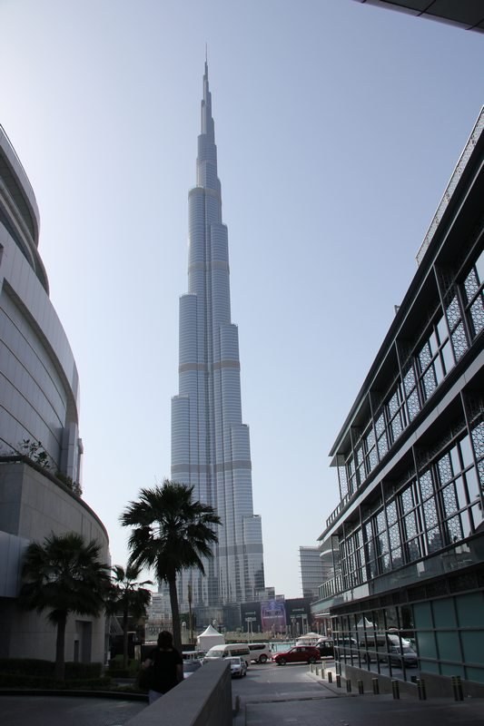 The Burj Khalifa. It's very tall. Photo: Peninsularity Ensues