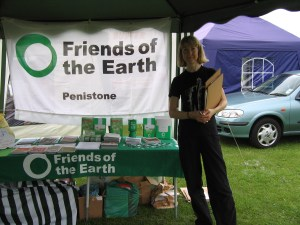 Stall at Penistone Gala