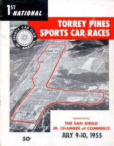 Torrey Pines Racing booklet