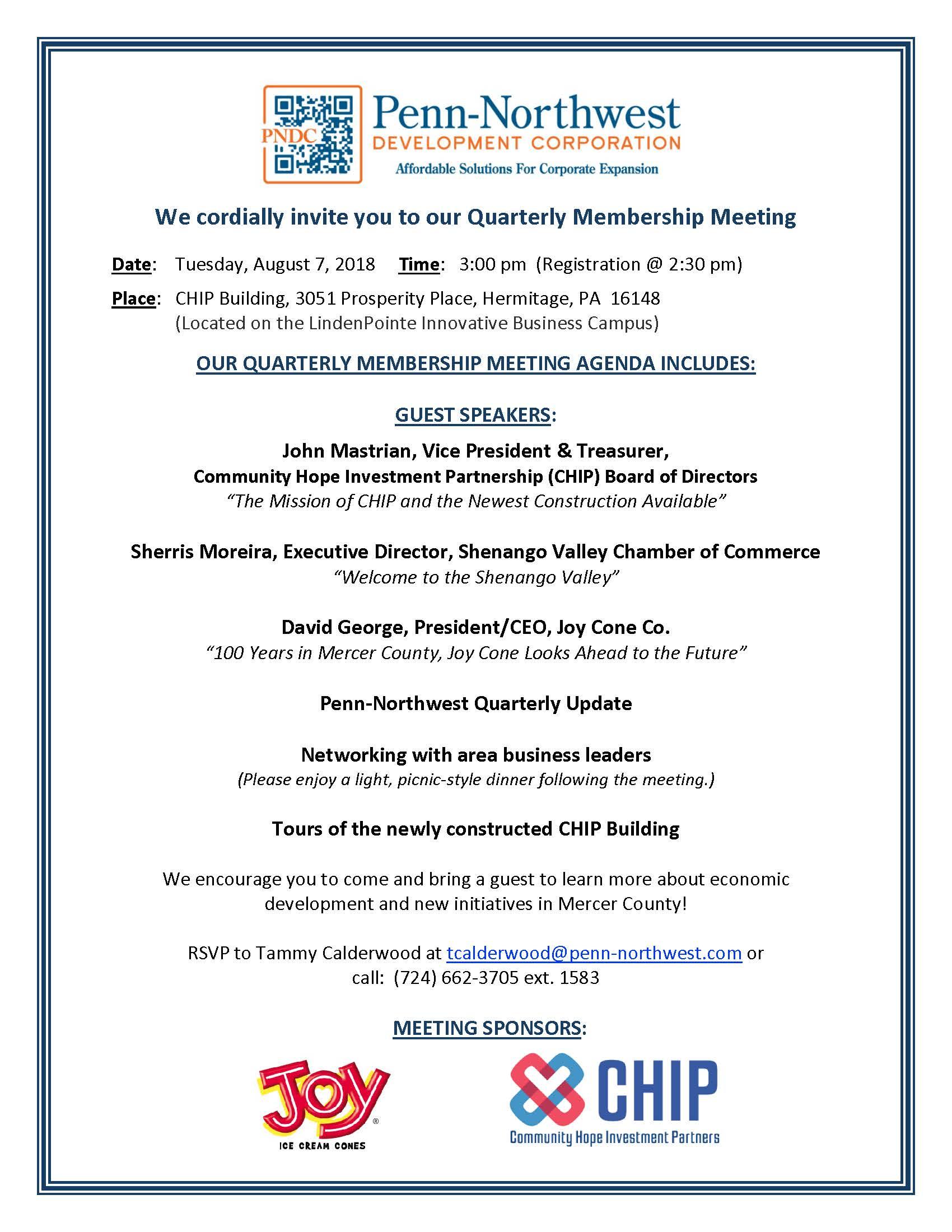 Penn-Northwest Development Corp. – Make it in Mercer County. PA