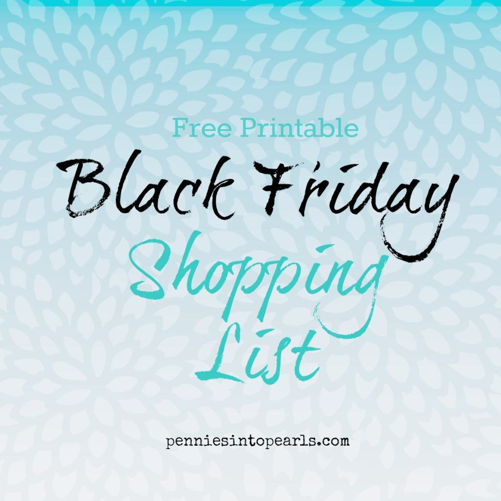 Black Friday Printable Featured Image
