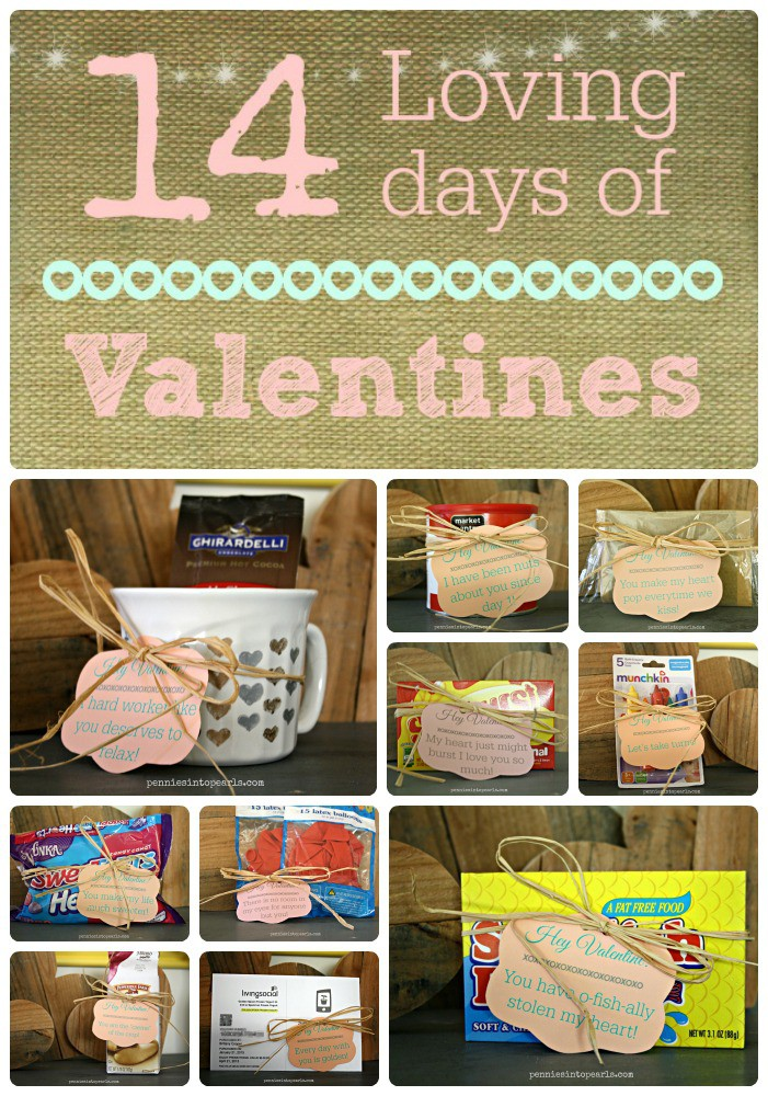 14 loving days of valentine gifts - pennies into pearls, Ideas