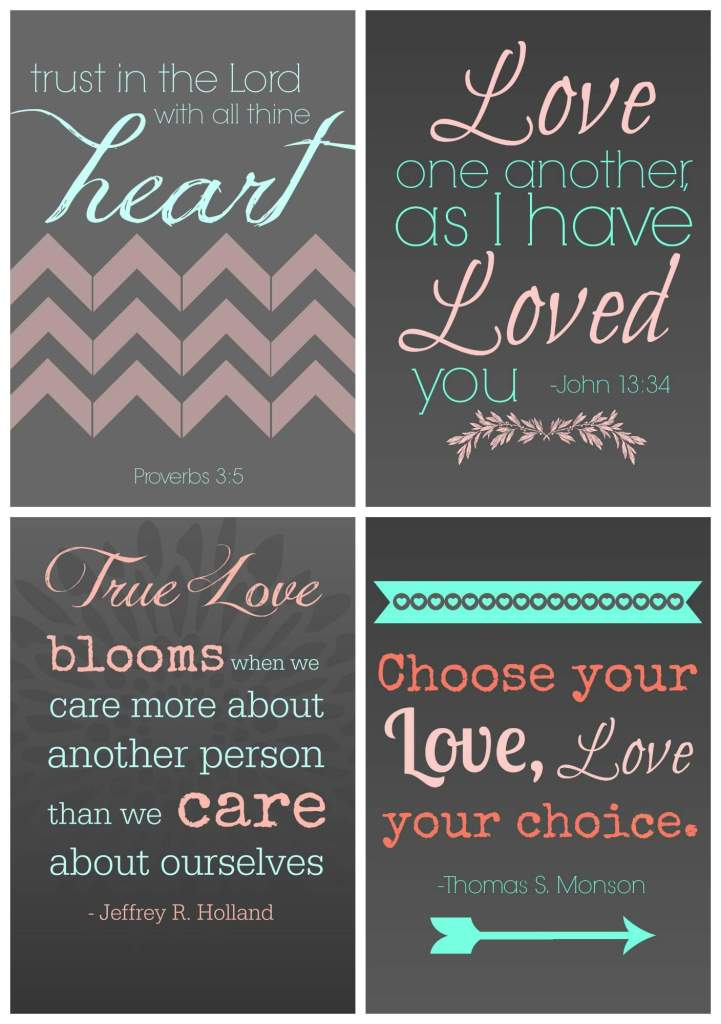 Love Printables Collage
