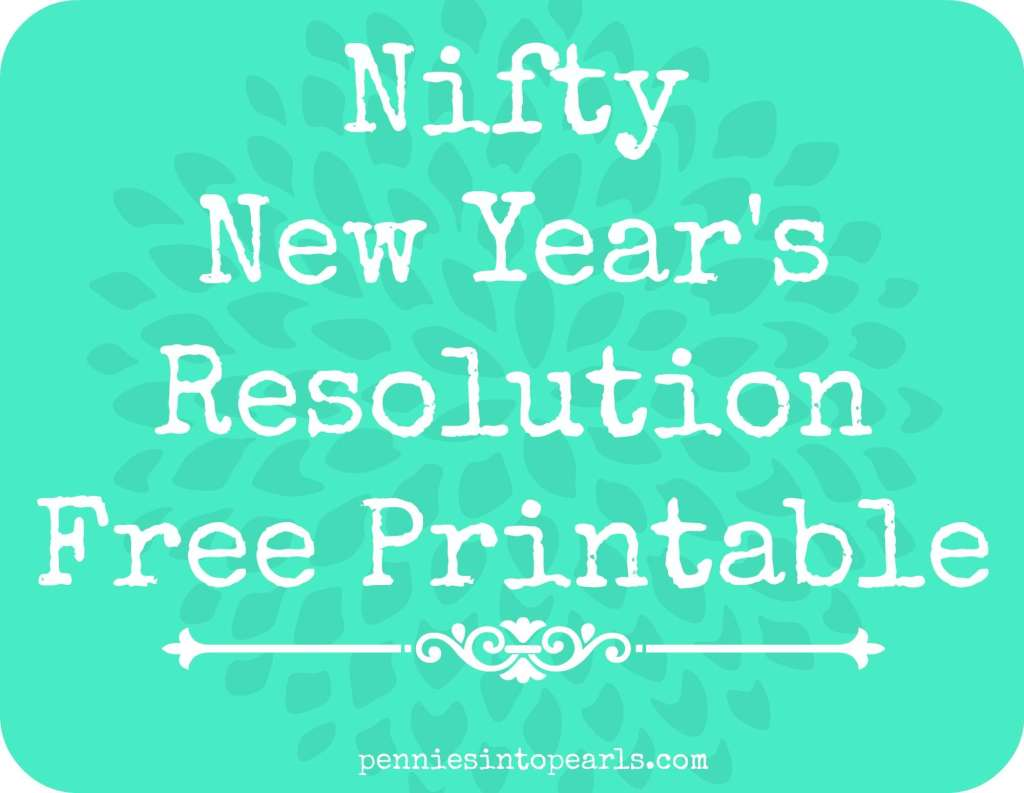 New Year's Resolution Printable Featured