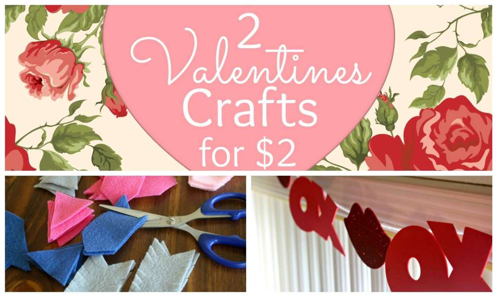 2 Valentine Crafts Collage Featured
