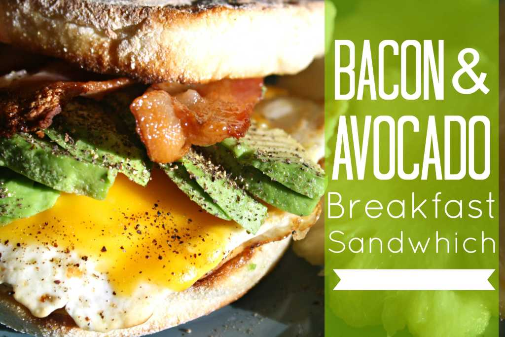 Bacon and Avocado Sandwich Featured