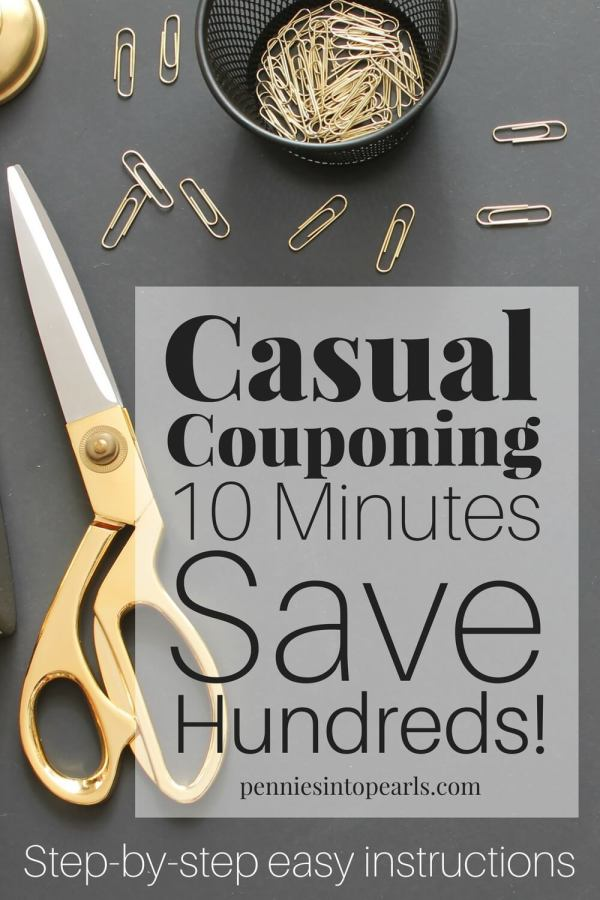 Beginners guide on how to coupon to save hundreds of dollars each month, with only 15 minutes prep each week. Easy step-by-step guide to learn all the short cuts to save you more money!