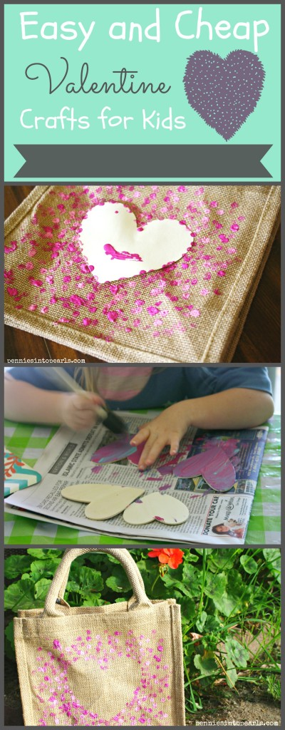 Easy and Cheap Valentine Crafts for Kids Collage