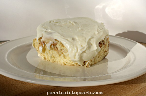 Cinnamon Rolls Recipe - penniesintopearls.com - Your new favorite cinnamon rolls recipe. You need to see how easy and tasty these cinnamon rolls are right now!