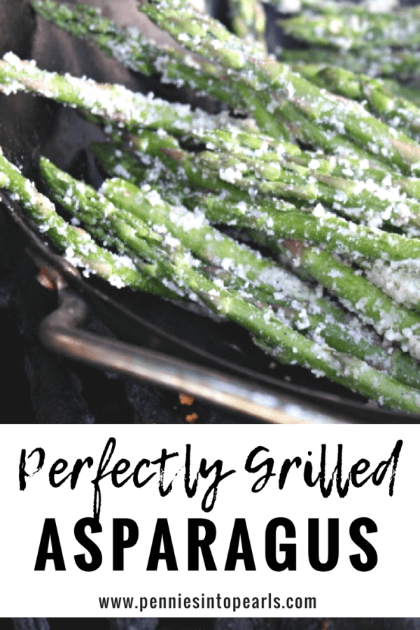 The best simple and easy grilled asparagus recipe! This healthy and tasty side dish is a great addition to any BBQ!