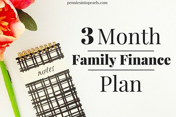 3 Month Plan to Control Your Family Finances. Love that this article has real world tips to help manage family finances. Very helpful advice for family finances.