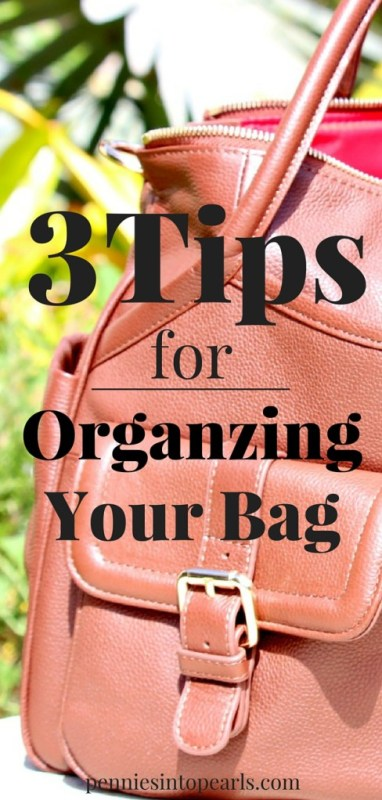 3 Tips for Organizing Your Bag. I didn't even know tip #2 existed! Super helpful tips for organizing my diaper bag.